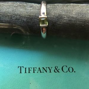 Tiffany & Co. Peridot silver ring